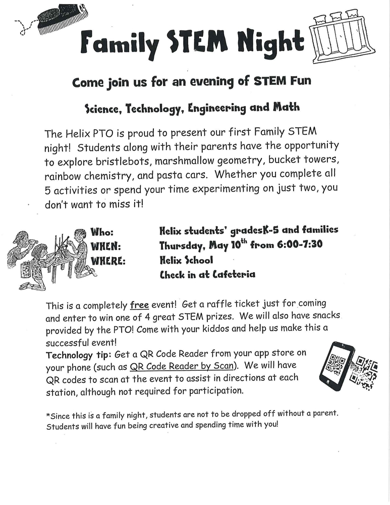 Helix Elementary STEM Night