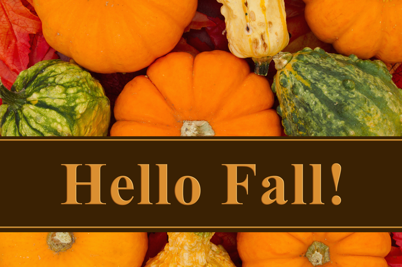 Fall Educational Activities